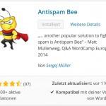 Die Killerbiene kriegt sie alle! - Antispam Bee, das WordPress Plugin