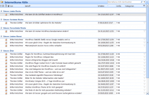 RSS Feed bei Outlook