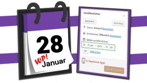 Manchmal möchte man vorarbeiten: WordPress Beiträge planen