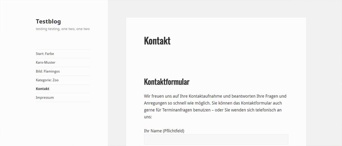 WordPress Hintergrund pro Seite ändern - wie geht das?