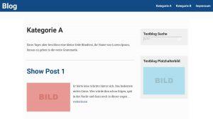 Weaver Xtreme und Show Posts