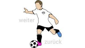 Fußballspieler Navigation