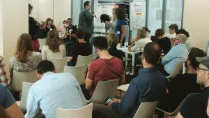 Begrüßung beim #barcampkoeln 2016