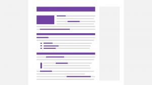 Online-Texte strukturieren