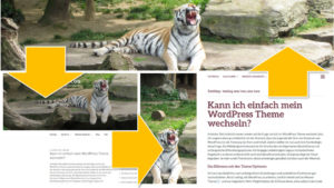 WordPress Theme wechseln