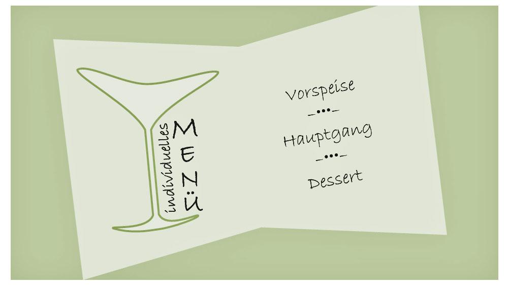 Individuelles Menü