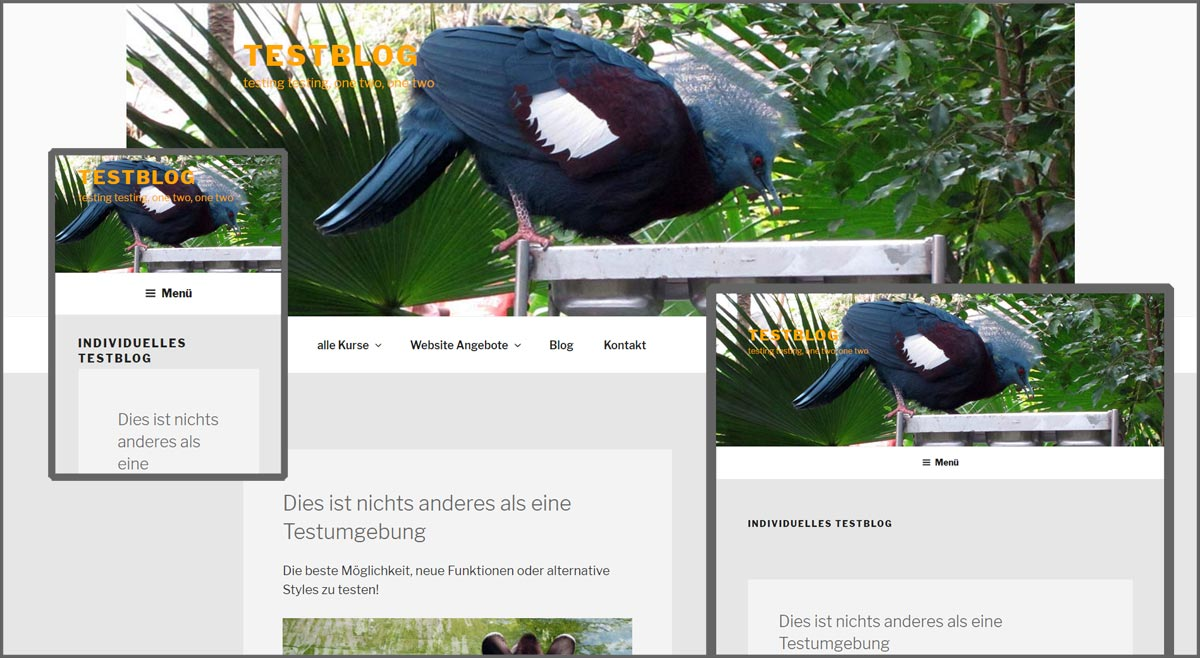 WordPress Header Größe (Twenty Seventeen)