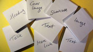 Viele Blöcke für das Blog: Gutenberg Editor