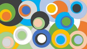 WordPress Gutenberg Farben - viele bunte Farbkreise