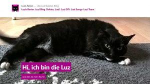 Blog mit Twenty Nineteen: Luzis Revier