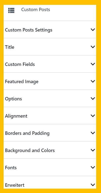 Custom Post Types Block, eine gute Alternative zum Neueste Beiträge Block