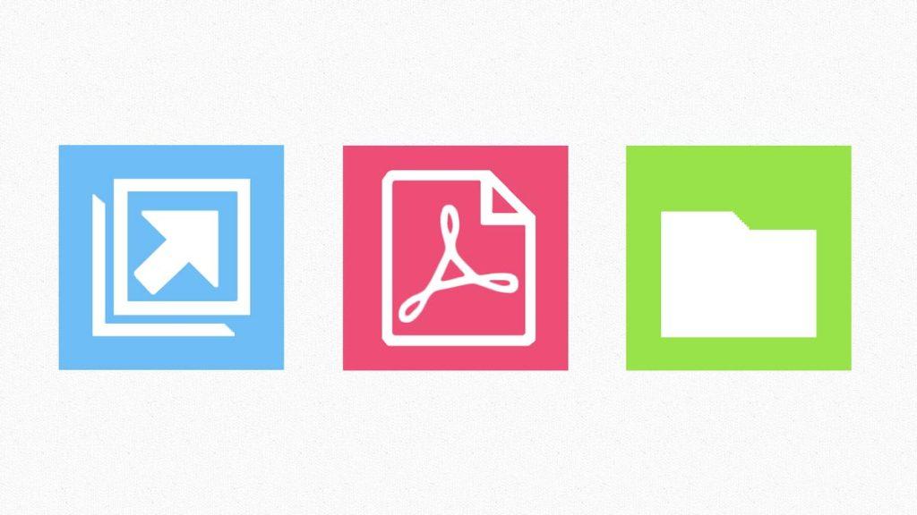 In WordPress eigene Icons einfügen, zum Beispiel für Externer Link, PDF-Link, Link zu Kategorie-Archiv